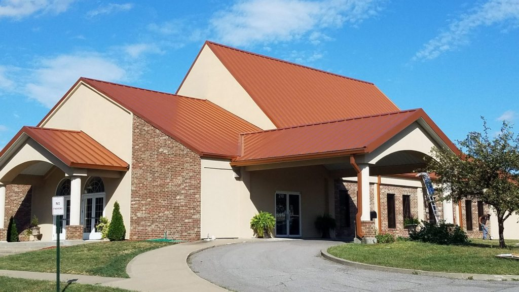 standing seam local commercial