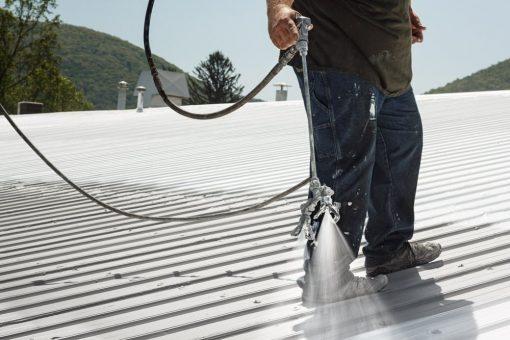 walking on metal roof